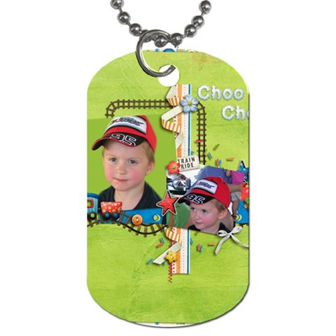 Nolantag By Sherry   Dog Tag (one Side)   03wg8d3e9fwe   Www Artscow Com Front