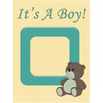 it s a boy - Greeting Card 4.5  x 6