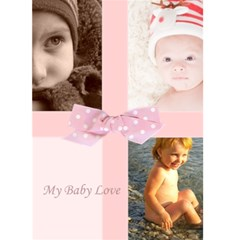 I Love You By Joely   Greeting Card 5  X 7    I8h9w24klju8   Www Artscow Com Front Cover