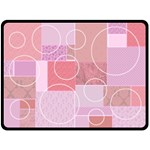 Baby Girl Patchwork Quilt - Fleece Blanket (Large)