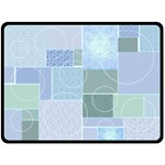 Baby Boy Patchwork Quilt - Extra Large Blanket - Fleece Blanket (Extra Large)