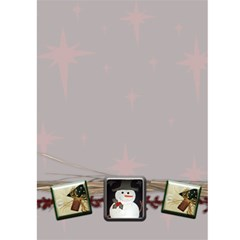 Christmas Card Template By Danielle Christiansen   Greeting Card 5  X 7    Cch27cmab8oj   Www Artscow Com Front Inside