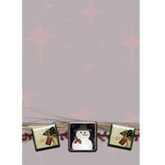 Christmas Card Template By Danielle Christiansen   Greeting Card 5  X 7    Cch27cmab8oj   Www Artscow Com Back Inside