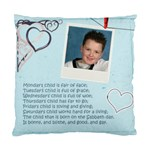 Monday s Child Cushion Cover - Cushion Case (One Side)