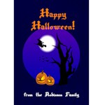 Halloween Card - Greeting Card 5  x 7