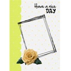 Have A Nice Day   Custom Greeting Card 5  X 7  By Carmensita   Greeting Card 5  X 7    Rcqi8oyg2do0   Www Artscow Com Front Cover