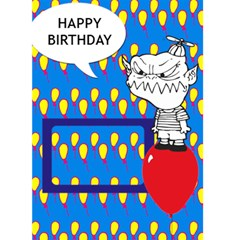 Happy Birthday   Custom Greeting Card 5  X 7  By Carmensita   Greeting Card 5  X 7    Ifglmp22h6g6   Www Artscow Com Front Cover