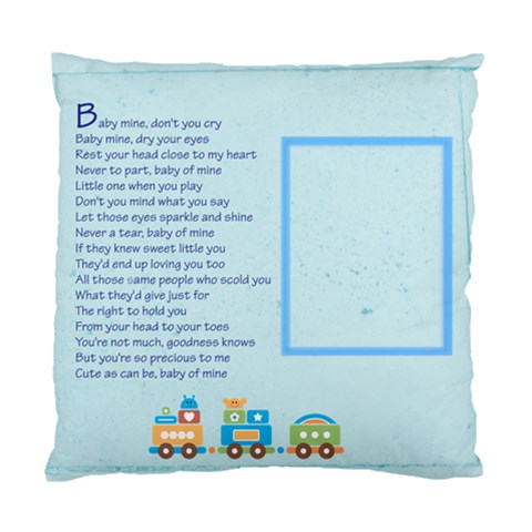 Baby Mine Cushion Cover By Catvinnat   Standard Cushion Case (one Side)   5zvdla5n0747   Www Artscow Com Front