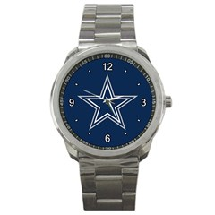 Dallas Cowboys 1 Sport Metal Watch by fidzirestroasia