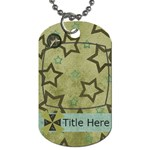 Simple Sam Dog Tag2 - Dog Tag (One Side)
