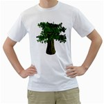 tree_100 White T-Shirt