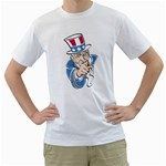 UNCLE_SAM_60 White T-Shirt