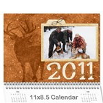 2011 for Grandpa - Wall Calendar 11  x 8.5  (12-Months)