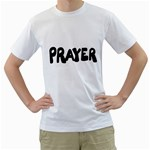 PRAYER_85 White T-Shirt