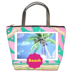 Beach Bag By Danielle Christiansen   Bucket Bag   Q6m4y3ldgvwk   Www Artscow Com Front
