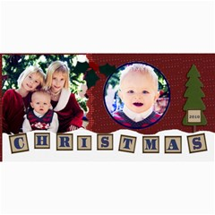 Christmas Card 2010 Template By Danielle Christiansen   4  X 8  Photo Cards   Za9n0hnqk6su   Www Artscow Com 8 x4 Photo Card - 1