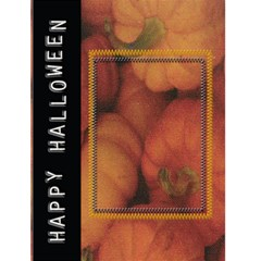 Halloweeen Card By Danielle Christiansen   Greeting Card 4 5  X 6    Ojq97448v2si   Www Artscow Com Front Cover