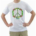 Peace_troic_35 White T-Shirt