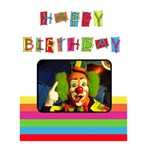 HAPPY BIRTHDAY  -  Custom Greeting Card 5  x 7
