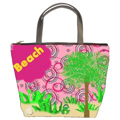 Beach Bag By Danielle Christiansen   Bucket Bag   8gs4bxer6rca   Www Artscow Com Front