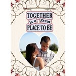 Together Card - Greeting Card 5  x 7
