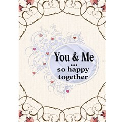 Together Card By Lil    Greeting Card 5  X 7    Up52ypfqfev6   Www Artscow Com Front Inside