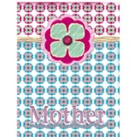 flower card mothers day - Greeting Card 4.5  x 6