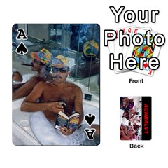Ace Vegas Cards By Carol Petrich   Playing Cards 54 Designs   20jn9at7yv33   Www Artscow Com Front - SpadeA