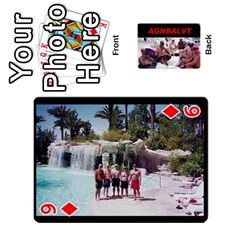 Vegas Cards By Carol Petrich   Playing Cards 54 Designs   20jn9at7yv33   Www Artscow Com Front - Diamond9