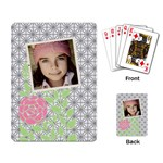 Jorge pattern Deck 3 - Playing Cards Single Design