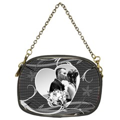 Black & White Chain Purse By Lil    Chain Purse (two Sides)   Z6nm6zj4hnxe   Www Artscow Com Front