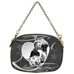 Black & White Chain Purse - Chain Purse (Two Sides)