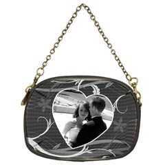 Black & White Chain Purse By Lil    Chain Purse (two Sides)   Z6nm6zj4hnxe   Www Artscow Com Back