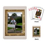 Gold frame playing cards - Playing Cards Single Design