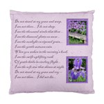 Do Not Stand at my Grave & Weep Cushion - Standard Cushion Case (Two Sides)