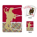 Playing Card- cowboy template - Playing Cards Single Design