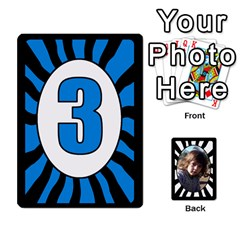 Abc+numbers Cards By Carmensita   Playing Cards 54 Designs   Qblo3v5oj4y2   Www Artscow Com Front - Diamond5