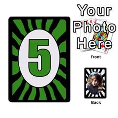 Abc+numbers Cards By Carmensita   Playing Cards 54 Designs   Qblo3v5oj4y2   Www Artscow Com Front - Club3