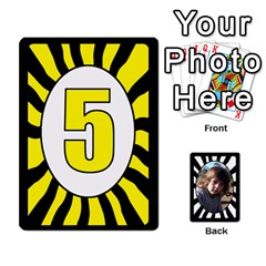 Queen Abc+numbers Cards By Carmensita   Playing Cards 54 Designs   Qblo3v5oj4y2   Www Artscow Com Front - ClubQ