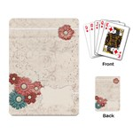 Playing Cards- Flowers template - Playing Cards Single Design