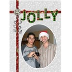 Christmas Card #3 - Greeting Card 5  x 7