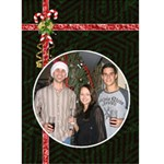 Christmas Card #4 - Greeting Card 5  x 7