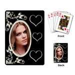 Hearts & Flowers Playing cards - Playing Cards Single Design
