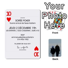 Lesenfants By Emmanuelle   Playing Cards 54 Designs   79uvlf34il03   Www Artscow Com Front - Heart10