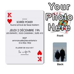 King Lesenfants By Emmanuelle   Playing Cards 54 Designs   79uvlf34il03   Www Artscow Com Front - HeartK