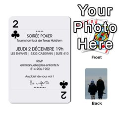 Lesenfants By Emmanuelle   Playing Cards 54 Designs   79uvlf34il03   Www Artscow Com Front - Club2