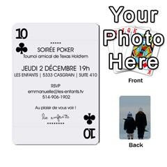 Lesenfants By Emmanuelle   Playing Cards 54 Designs   79uvlf34il03   Www Artscow Com Front - Club10