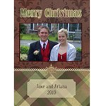 Victorian Christmas 3 5x7 Christmas Card - Greeting Card 5  x 7
