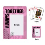 Always together -  CARDS - Playing Cards Single Design