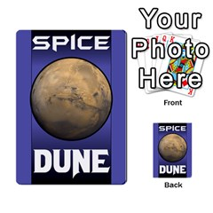 Duna   Spice And Treachery By Monkeyml   Multi Purpose Cards (rectangle)   Xvj9c0n4b5fy   Www Artscow Com Back 1